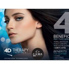GAMA 4D THERAPY - новая серия по комплексному уходу за волосами